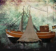 Shrimpfisher CUX 87 - Beach Bag - Crevettier by Gilberte