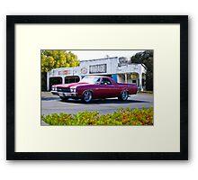 1970 Chevrolet El Camino SS Framed Print