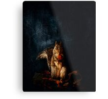 Portrait of a Brown Squirrel Metal Print