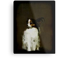 Top Dog With Hair Metal Print