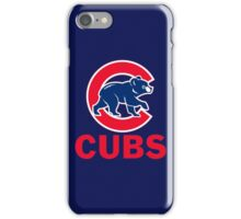 CHICAGO CUBS BASEBALL (1) iPhone Case/Skin