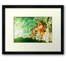 Piper Precious Wet  No73-5824 Framed Print