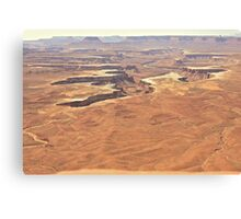 Flatlands and Canyonlands Canvas Print