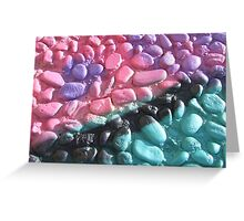 Painted Wall Greeting Card