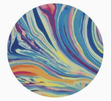 rainbow swirl Baby Tee