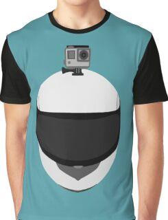 GoPro- MotoVlogger Helmet Cam Graphic T-Shirt