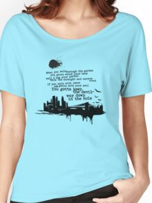 """""""Way Down In The Hole"""" - The Wire - Dark Women's Relaxed Fit T-Shirt"""