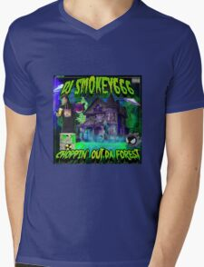 Dj Smokey - Choppin Out Da Forest Album Art Mens V-Neck T-Shirt