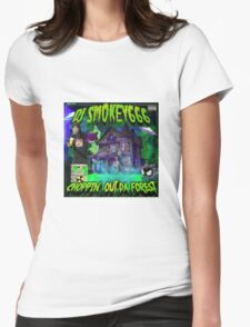 Dj Smokey - Choppin Out Da Forest Album Art Womens Fitted T-Shirt