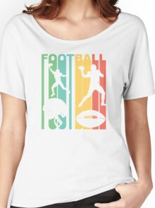 Retro Football Women's Relaxed Fit T-Shirt