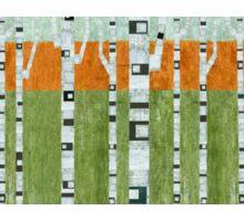Birches in Spring Sticker