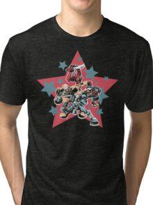 Captain Commando Tri-blend T-Shirt