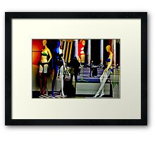 Milano Risque Framed Print