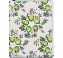 Summer's End - apples and pears iPad Case/Skin