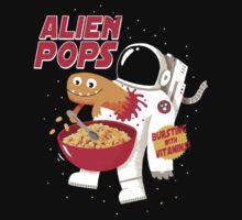 Alien Pops One Piece - Short Sleeve