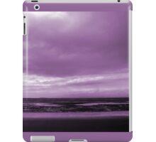 Rain Clouds At Sand Bay iPad Case/Skin