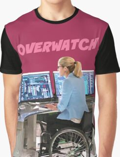 Felicity Smoak - Codename- Comic Book Text - Pink Graphic T-Shirt