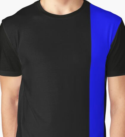 Thin Blue Line Graphic T-Shirt