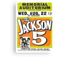 Jackson 5 Canvas Print
