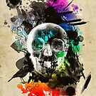 skull explosion by frederic levy-hadida