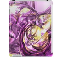 Violet Summer Abstract iPad Case/Skin