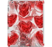 Hearts Afire Abstract iPad Case/Skin
