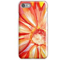 Open flower in the summer iPhone Case/Skin