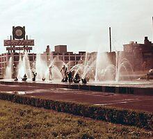 Former Sealtest Dairy Building clock - (1972)  by Dwaynep2010
