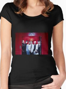 BTS GROUP - DOPE #2 Women's Fitted Scoop T-Shirt