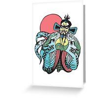 FU MANCHU BIG TROUBLE LITTLE CHINA Greeting Card