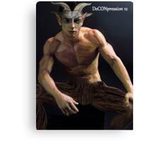 DeCONpression 12 Dark Pan Decon 12 Canvas Print