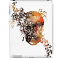 skull crystallisation iPad Case/Skin