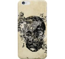 skull crystallisation iPhone Case/Skin