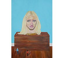 """Museum of strange things No1 """"Study of a blonde girl"""" Photographic Print"""