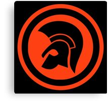 "Trojan Records 6 "" target "" Canvas Print"