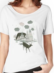 magic mountains Women's Relaxed Fit T-Shirt