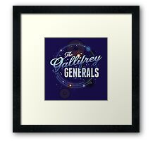 The Gallifrey Generals Framed Print
