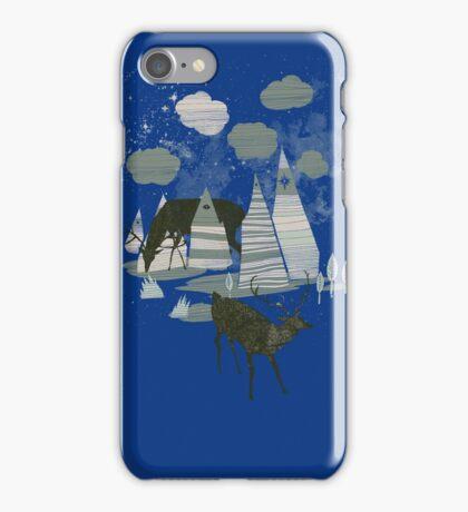 magic mountains iPhone Case/Skin