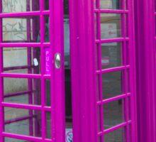 Telephone Box, Covent Garden, London Sticker