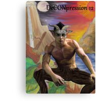 DeCONpression 12 Pan Decon 12 Canvas Print