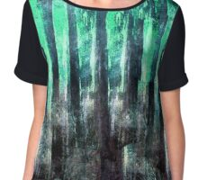 abstract 5/16 b Chiffon Top