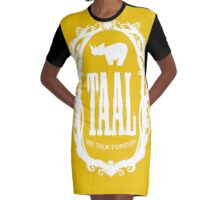 taal - our language Graphic T-Shirt Dress