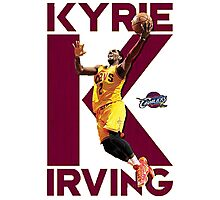 Kyrie the MVP Photographic Print