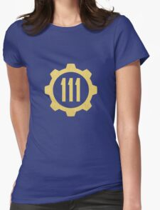 Fallout Vault 111 Womens Fitted T-Shirt