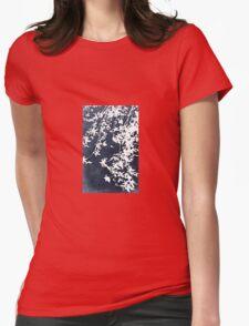 denim blue Womens Fitted T-Shirt