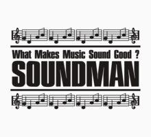 Good Soundman Black Baby Tee