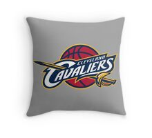 Cavs Throw Pillow