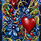 """Incense, Hearts & Flowers"" by Steve Farr"