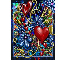 """""""Incense, Hearts & Flowers"""" Photographic Print"""