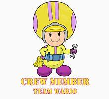 Team Wario Crewmember Unisex T-Shirt